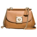 Coach Drifter Leather Across Body Bag, Caramel
