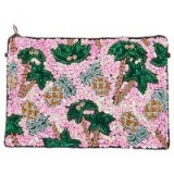 From St Xavier Pammie Zip Top Pouch – embellished evening bags