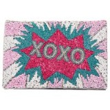 From St Xavier XOXO Foldover Clutch