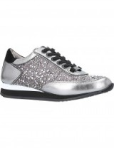 CARVELA Lemmy leather trainers #embellished #sneakers