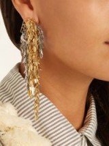 LOEWE Chain-drop earring ~ single statement drop earrings