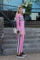 Pink & sporty street style