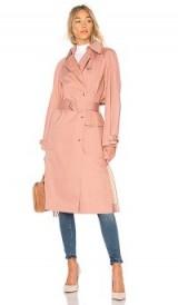 Elizabeth and James WESTON COAT | pink trench coats