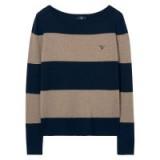 GANT Block Stripe Merino Sweater