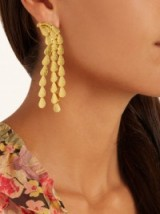 SOPHIA KOKOSALAKI Hail Comet gold-plated earrings