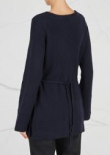 LE KASHA Havane navy cashmere jumper
