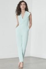 lavish alice Sleeveless Tailored Jumpsuit in Mint #evening #jumpsuits
