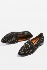 Topshop Liberty Studded Loafers