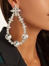 RACIL London crystal-embellished earrings
