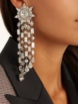 RACIL London crystal-embellished earrings ~ statement jewellery
