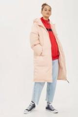 Fila Longline Puffer Jacket | pink puffa jackets/coats