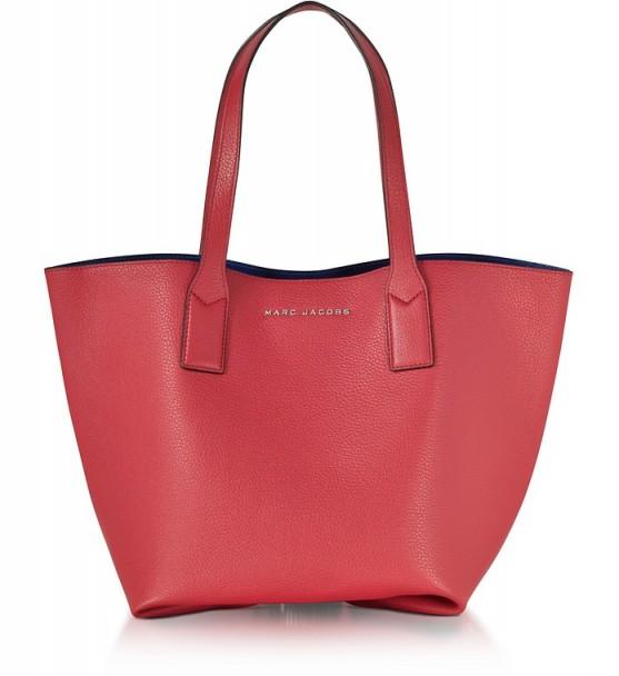 MARC JACOBS Wingman Rose Leather Shopping Bag #handbags #shopper #stylish #bags