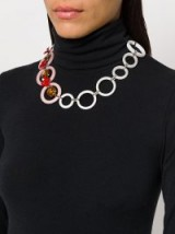 MARNI circle necklace ~ modern statement necklaces