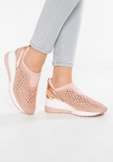 MICHAEL Michael Kors MALOY TRAINER ballet | light pink sneakers | sports luxe shoes