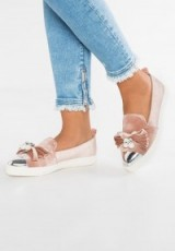 Miss KG LOTTIE Slip-ons nude | light pink flat shoes | luxe flats