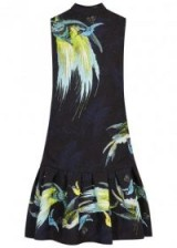 ERDEM Nena printed matelassé dress