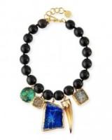 NEST Jewelry Beaded Multi-Pendant Necklace ~ statement necklaces