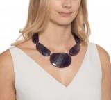 LOLA ROSE Pips Necklace ~ statement gemstone jewellery ~ rainbow fluorite necklaces