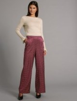 AUTOGRAPH Polka Dot Wide Leg Trousers / M&S clothing