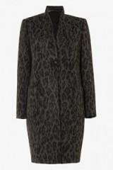 damsel in a dress ROWAN LEOPARD PRINT COAT – winter coats