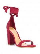 SCHUTZ Kelma sandals ~ ankle wrap shoes