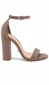 Schutz DELZA HEEL ~ ankle tie block heeled sandals