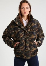 Sparkz LUANNE Down jacket army | padded camo print winter jackets