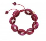 LOLA ROSE Tasha Bracelet | chunky pink stone bracelets