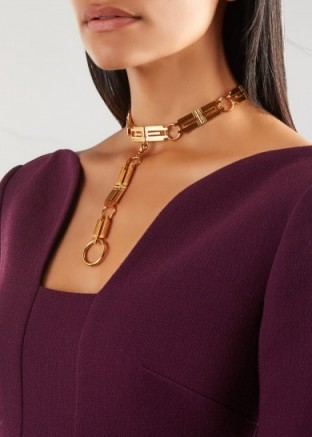 MFP-MARIAFRANCESCAPEPE The Origins 23kt gold-plated choker