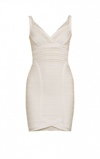 HEREVE LEGER VIVIEN MESH BANDAGE DRESS – luxe bodycon dresses