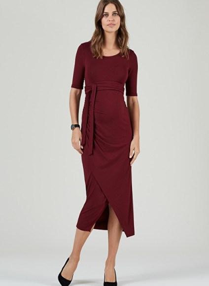 Isabella Oliver WICKHAM MATERNITY DRESS - flipped