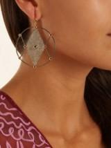 ARA VARTANIAN X Kate Moss diamond, ruby & gold earring ~ single earrings ~ statement jewellery