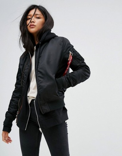 Alpha Industries MA-1VF Soft Shell Bomber Jacket