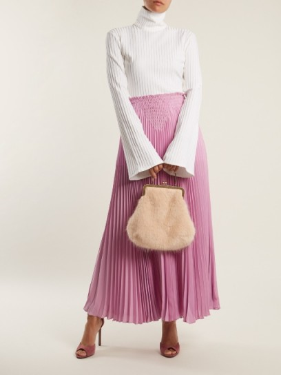 b5d1e55763 SHRIMPS Arthur faux-fur bag ~ large fluffy vintage style bags ...