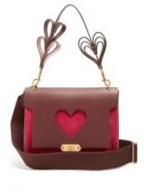 ANYA HINDMARCH Bathurst mini suede-leather shoulder bag