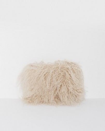 Brother Vellies Wallflower Pouch ~ large shaggy clutch bags