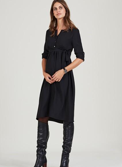 Isabella Oliver CATRIONA SHIFT MATERNITY DRESS – pregnancy dresses