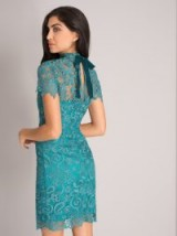 CHI CHI MEGHAN DRESS – teal lace part dresses