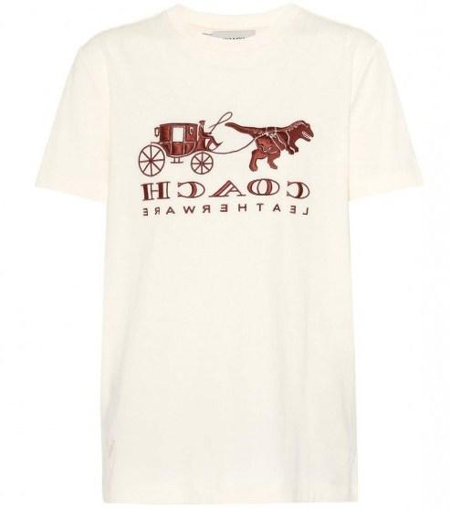 COACH Rexy Carriage cotton T-shirt - flipped