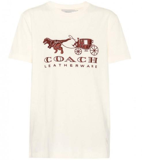 COACH Rexy Carriage cotton T-shirt
