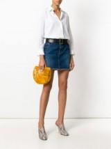 CULT GAIA mini Ark clutch bag | gold PVC bags