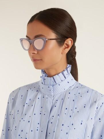 LE SPECS Enchantress cat-eye sunglasses / vintage style accessories