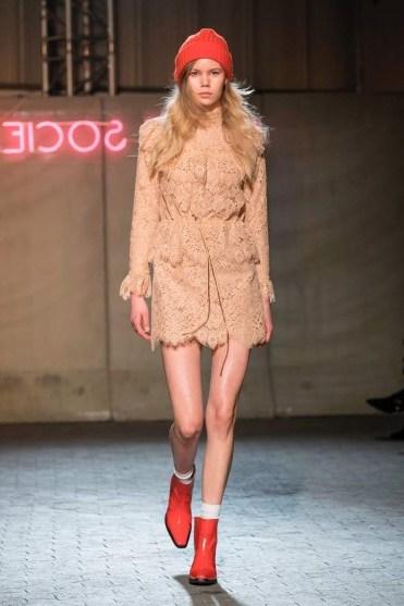 GANNI Jerome lace minidress/ floral lace mini dresses - flipped