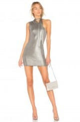 h:ours X REVOLVE LEONOR DRESS ~ metallic mini dresses ~ evening glamour