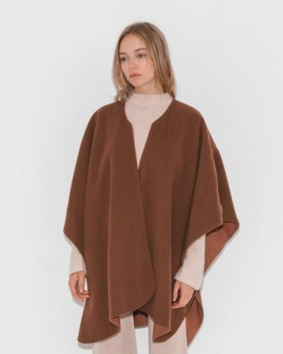 Jesse Kamm Reverisble Ama Warming Cape ~ camel capes