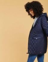 JOULES LALESTONE QUILTED COAT / warm winter coats