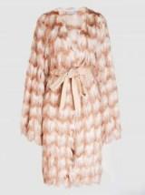MADIYAH AL SHARQI Rapunzel Fringed Fabric Coat | luxe coats