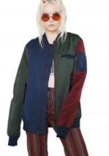 Members Only COLOR BLOCK BOMBER JACKET | casual multi-coloured jackets