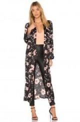 MISA Los Angeles MALINA KIMONO | long kimonos | floral coats