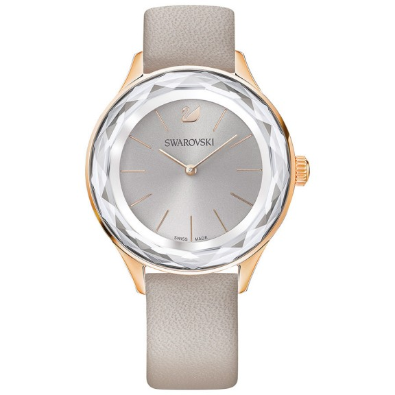 SWAROVSKI OCTEA NOVA WATCH TAUPE – crystal watches